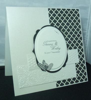 Modern Medley Wedding card