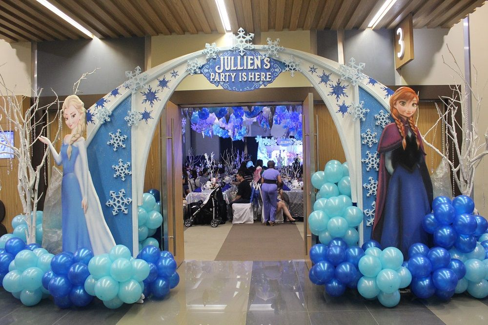 Frozen Themed Party Decoration Ideas Part - 49: Frozen Birthday Party Of Jullien Magcale