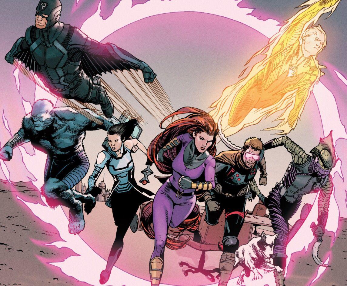 Inhumans Superhero comic, Marvel, Anime