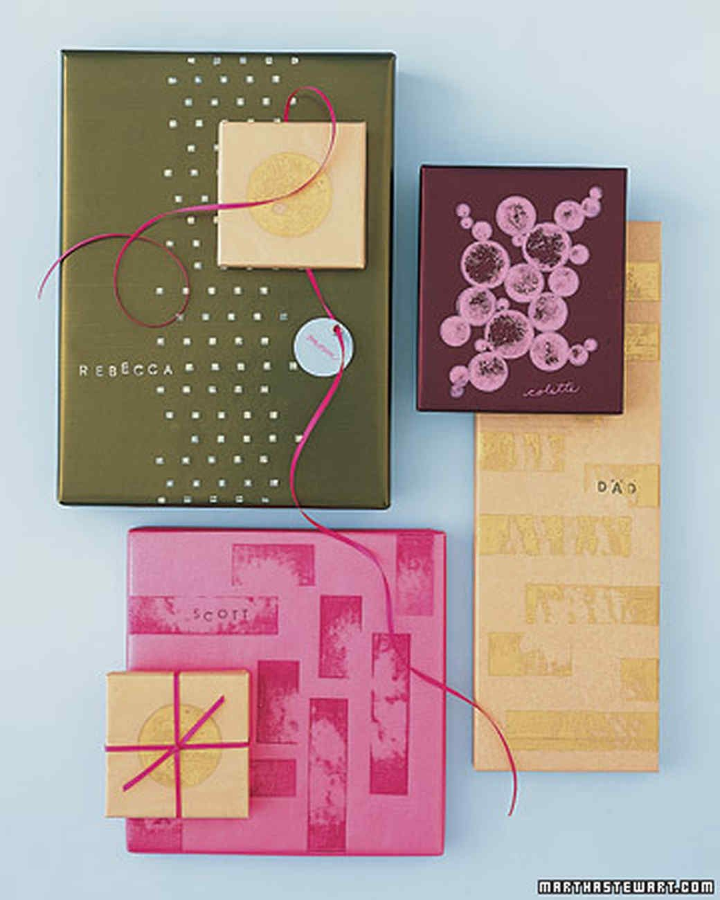 Custom Print Wrapping Paper