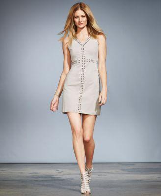 V Neck Sheath Dresses