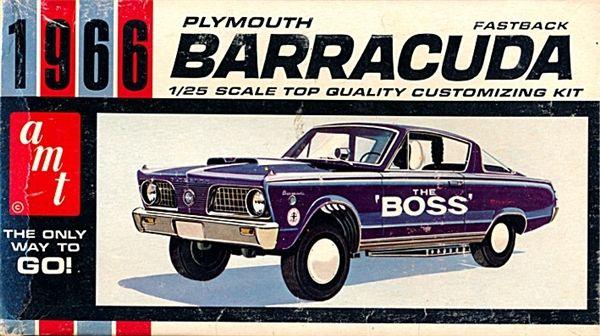 1966 Plymouth Barracuda Customized By Gene Winfield 1 25