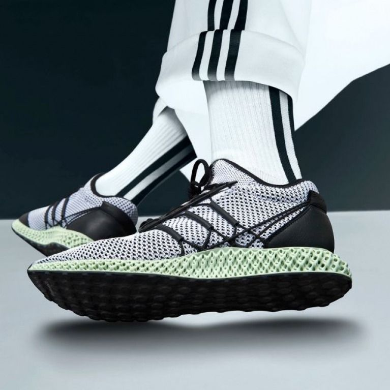 ac29c1f8f Yohji Yamamoto Y-3 Runner 4D adidas 3D-printed midsole  men  shoes   footwear  product  shoe