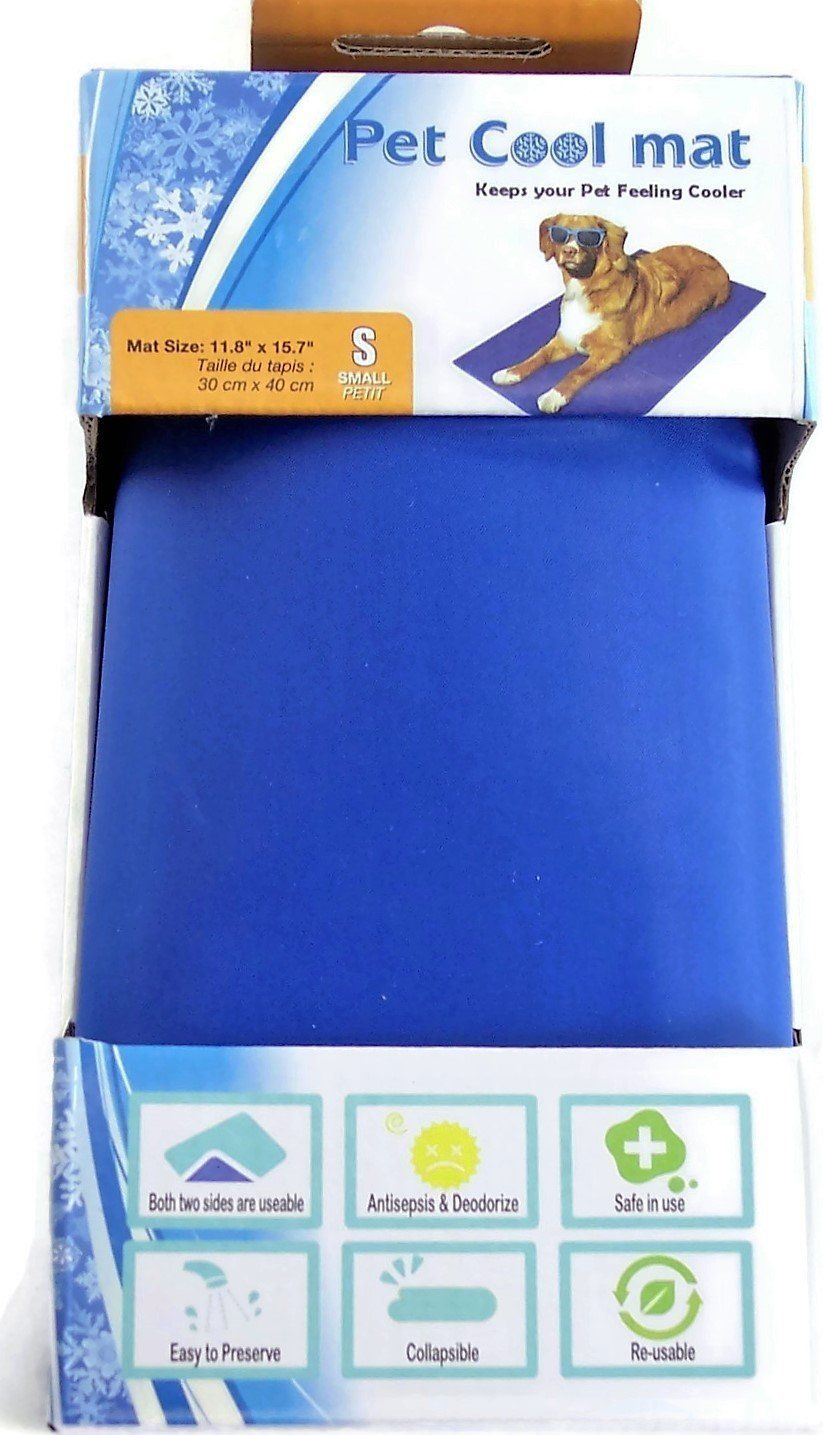 Pet Cool Mat For Small Pets Dogs Cats Size 11 8 X 15 7 Blue To View Further For This Item Visit The Image Link This Is An Aff Small Pets Dog Cat Pet Dogs