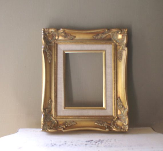 Ornate Gold Picture Frame 12 x 10 | Frame display, Cottages and Shabby