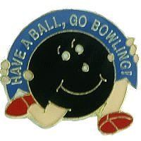 Have a Ball Bowling Lapel Pin by Bowling Delights. $4.45. Goldtone. Have a ball bowling. Goldtone Lapel Pin