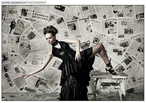 Newspaper Backdrop Photoshoot Backdrops Dreamy Photography Backdrops Fashion