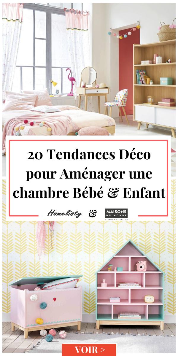 Maisons Du Monde 20 Tendances Deco Bebes Enfants En 2020 Maison Du Monde Enfant Chambre Bebe Maison Du Monde
