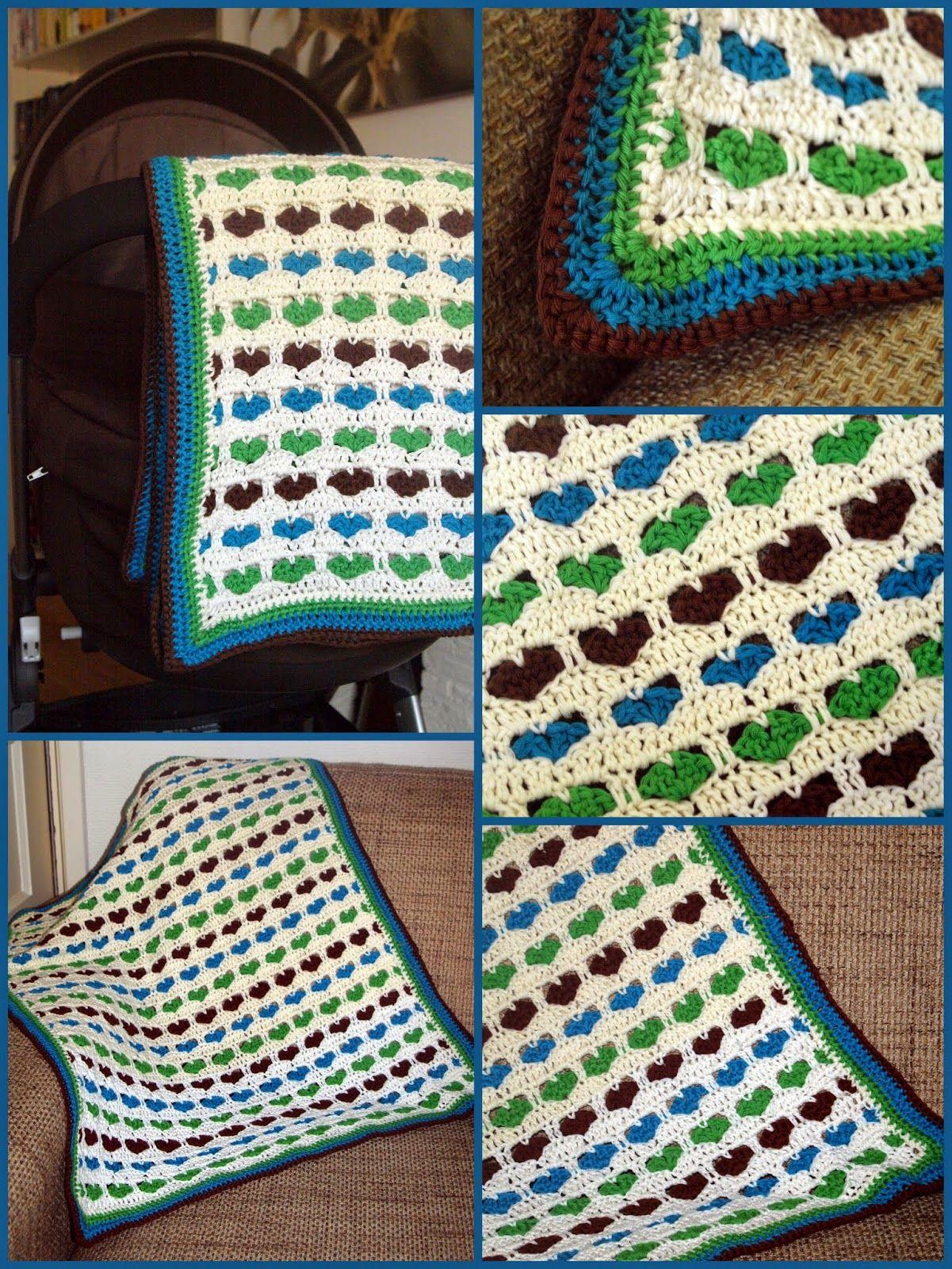 Marianne Haakt En Naait Babydeken Haakinspiratie Crochet