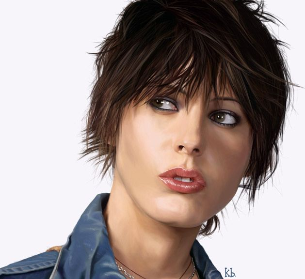 25 incredible digital painting portraits | digital