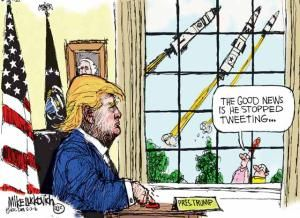Political Cartoons Of The Week Trump Cartoons Political