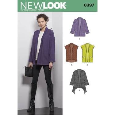 2d1e3248 NewLook 6397 | sewing | Pinterest | Sewing patterns, Sewing and Pattern