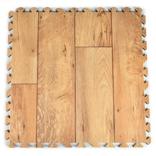 These Wood Grain Foam Tiles Have An Unique Rustic Look Are Available In Several Finishes