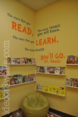 Idecor8walls Day Care Centre Reading Room Preschool Reading Corner Daycare Rooms Kids Library