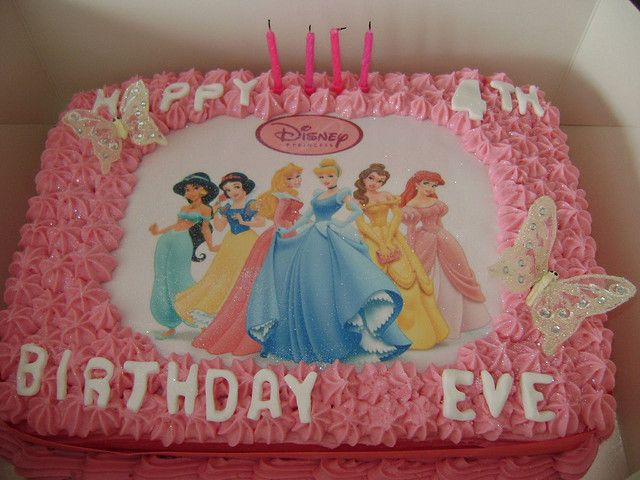 winn dixie sheet cake Disney Princess Birthday Cake Flickr