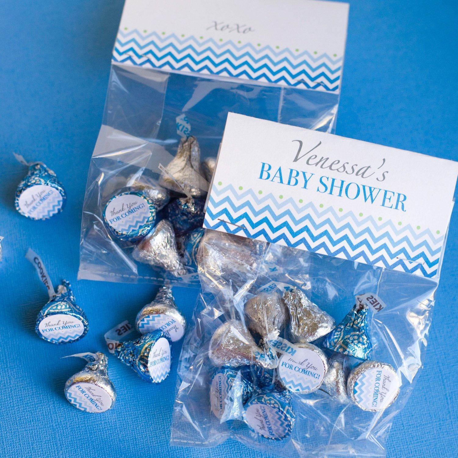 Thank you for coming Birthday Party Personalized Party Favor Hershey Kiss Label
