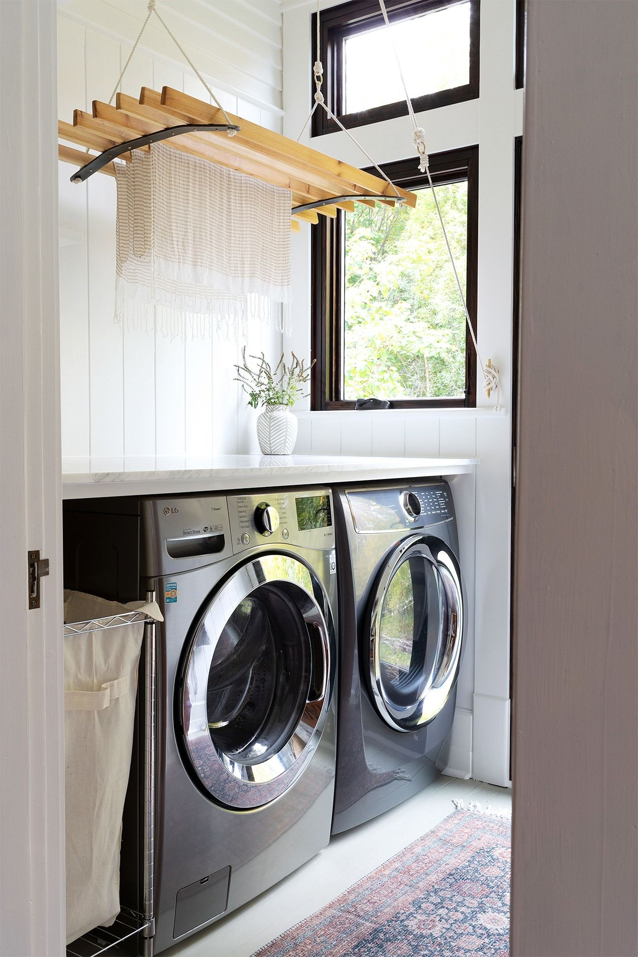 This Laundry Room Makeover By Grit And