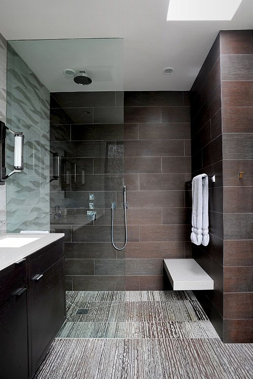 Amazing bathroom design Check out the tile work Project by