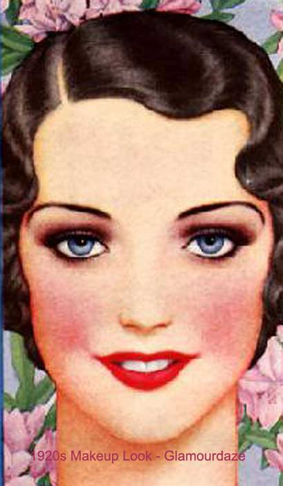 The History of 1920s Makeup - 1920 to 1929 | Glamour Daze