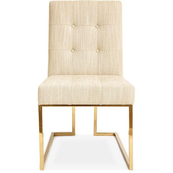 Jonathan Adler Goldfinger Oatmeal Dining Chair 4 685 Sar