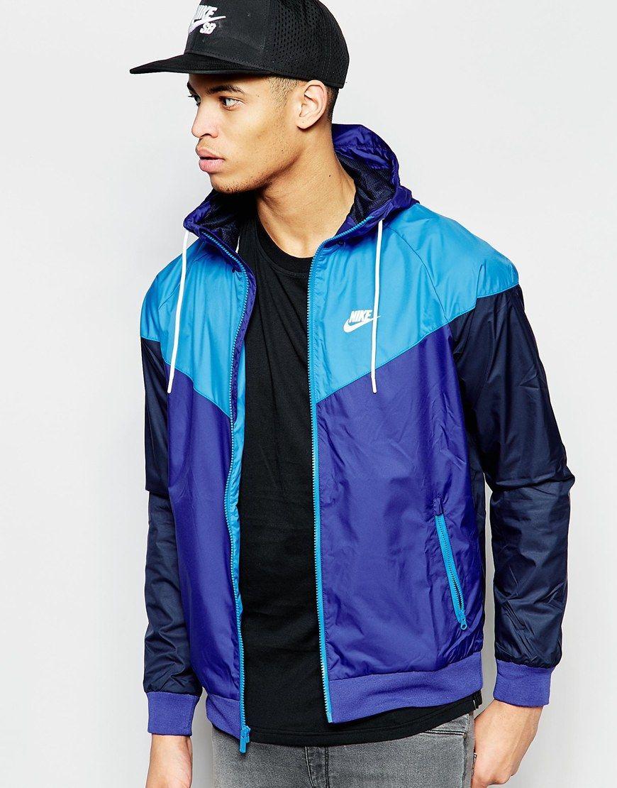 8f37f0877d Image 1 of Nike Windbreaker Jacket 727324-457