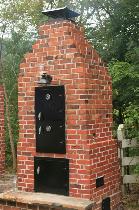 How To Build A Brick Smoker  Have your own smoker in your backyard.  For my house ...
