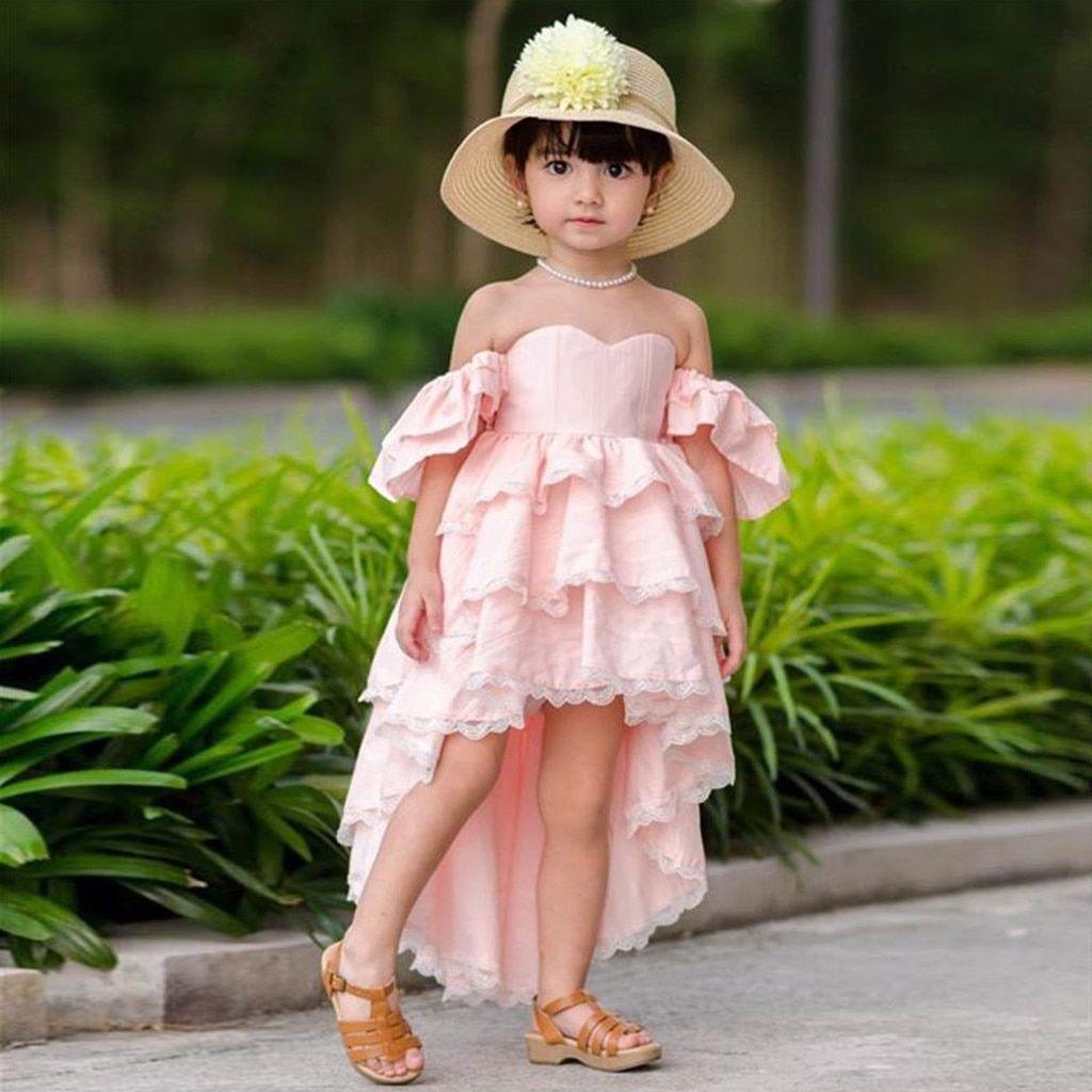 Muqgew summer elegant girls for dress toddler kids baby