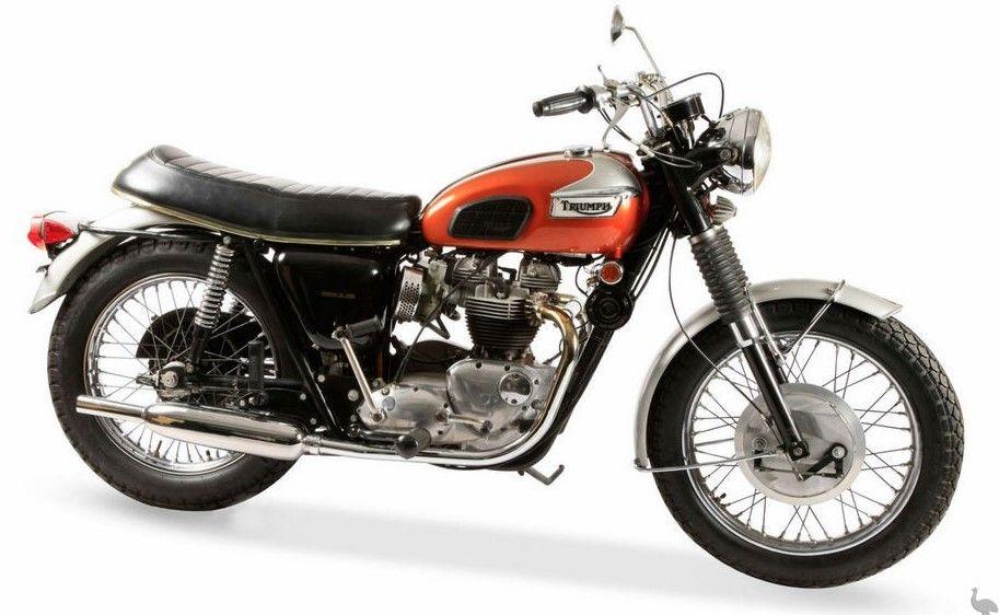 1969 Triumph Bonneville T120 650 Classic Motorcycles Triumph
