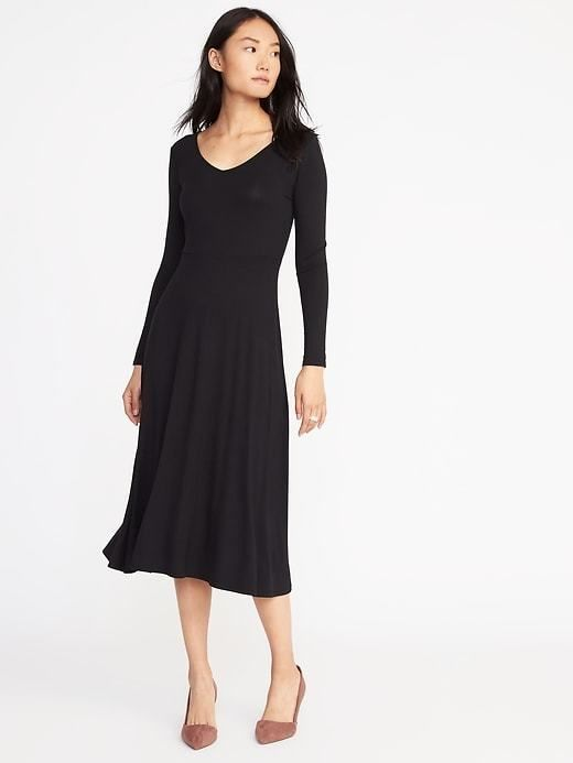 26e64e54c3 Old Navy Jersey Fit   Flare Midi for Women