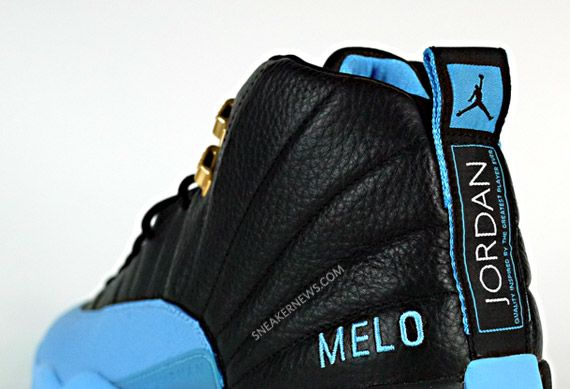Air Jordan XII - Carmelo Anthony Nuggets Away PE - SneakerNews.com ... 1f1622e76