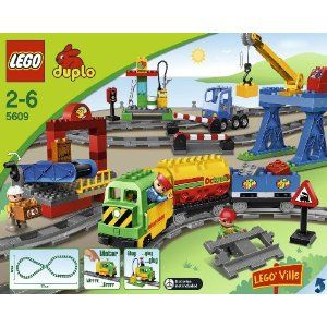 lego duplo eisenbahn super set 5609