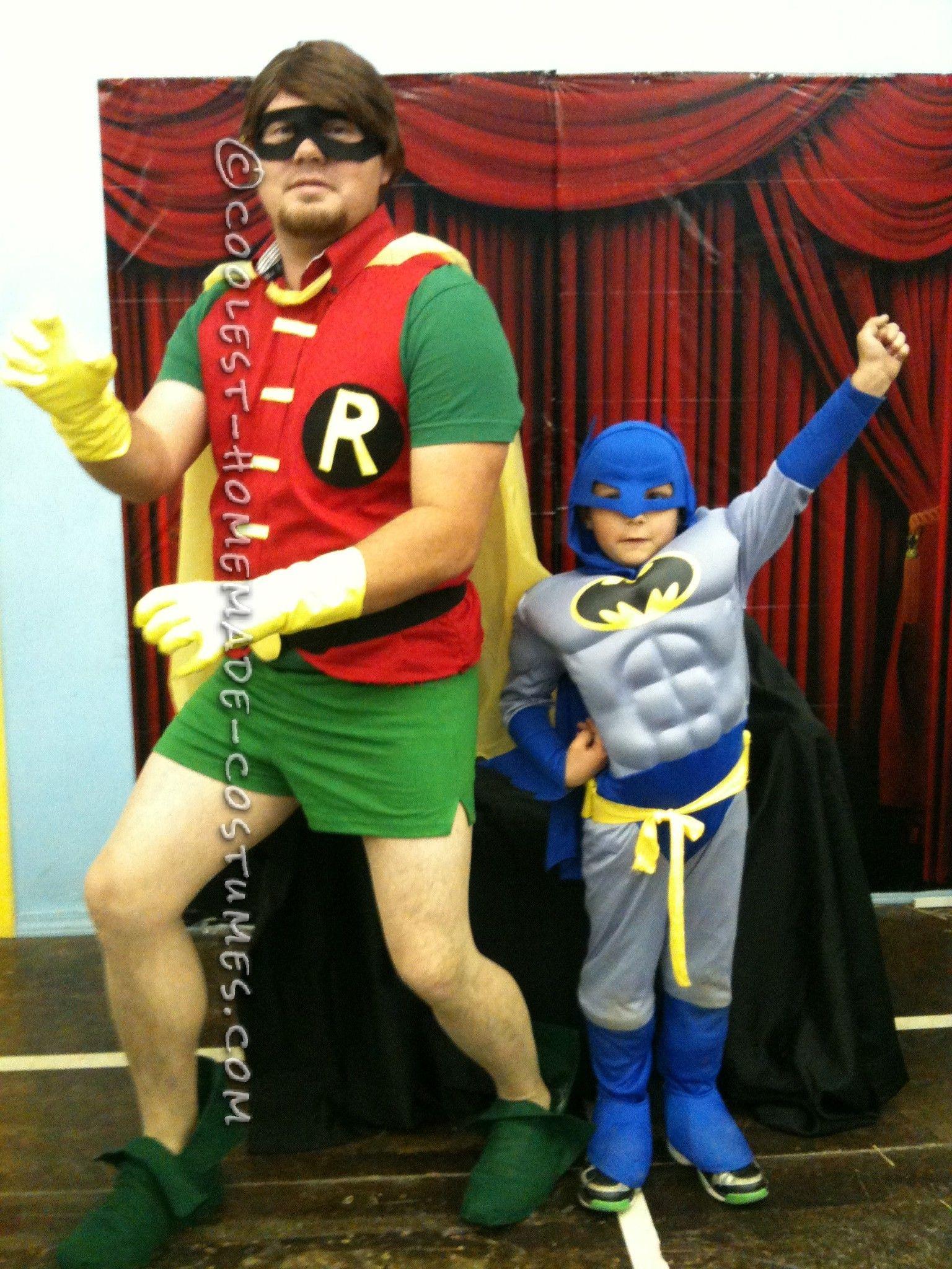 coolest homemade robin costume | halloween costume ideas