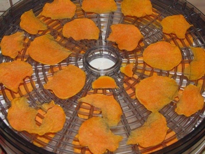 Sütőtök-chips