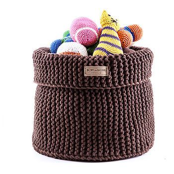 Cotton Toy Basket Dog Toy Storage Toy Basket Toy Storage Baskets