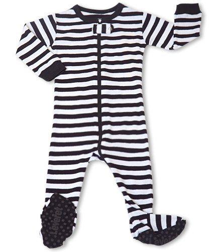 "e6a64dc8740d Leveret Footed B ""Striped"" Pajama Sleeper 100% « Clothing Impulse ..."