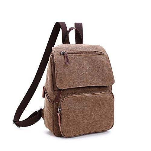 Toupons Small Canvas Backpack for Gilrs & Boys Kids Schoo...