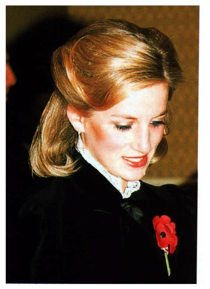Princess Diana 1984 Her Long Hair Created An Outroar To Return To