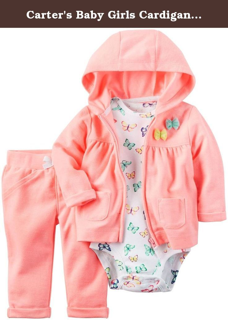 bed28ee9ef32 Carter s Baby Girls Cardigan Sets 121h249