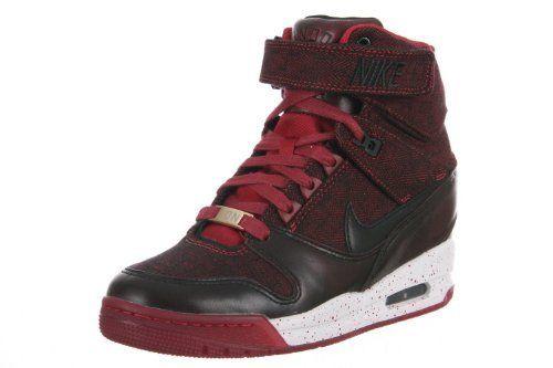 Nike AIR REVOLUTION SKY HI FQS Womens Sneakers 633525-600 d8a18b1114d