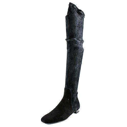 Delman Women's D-Evoke-SS Slouch Boot, Black Stretch Suede, 7.5 M US >>> Check out the image by visiting the link.