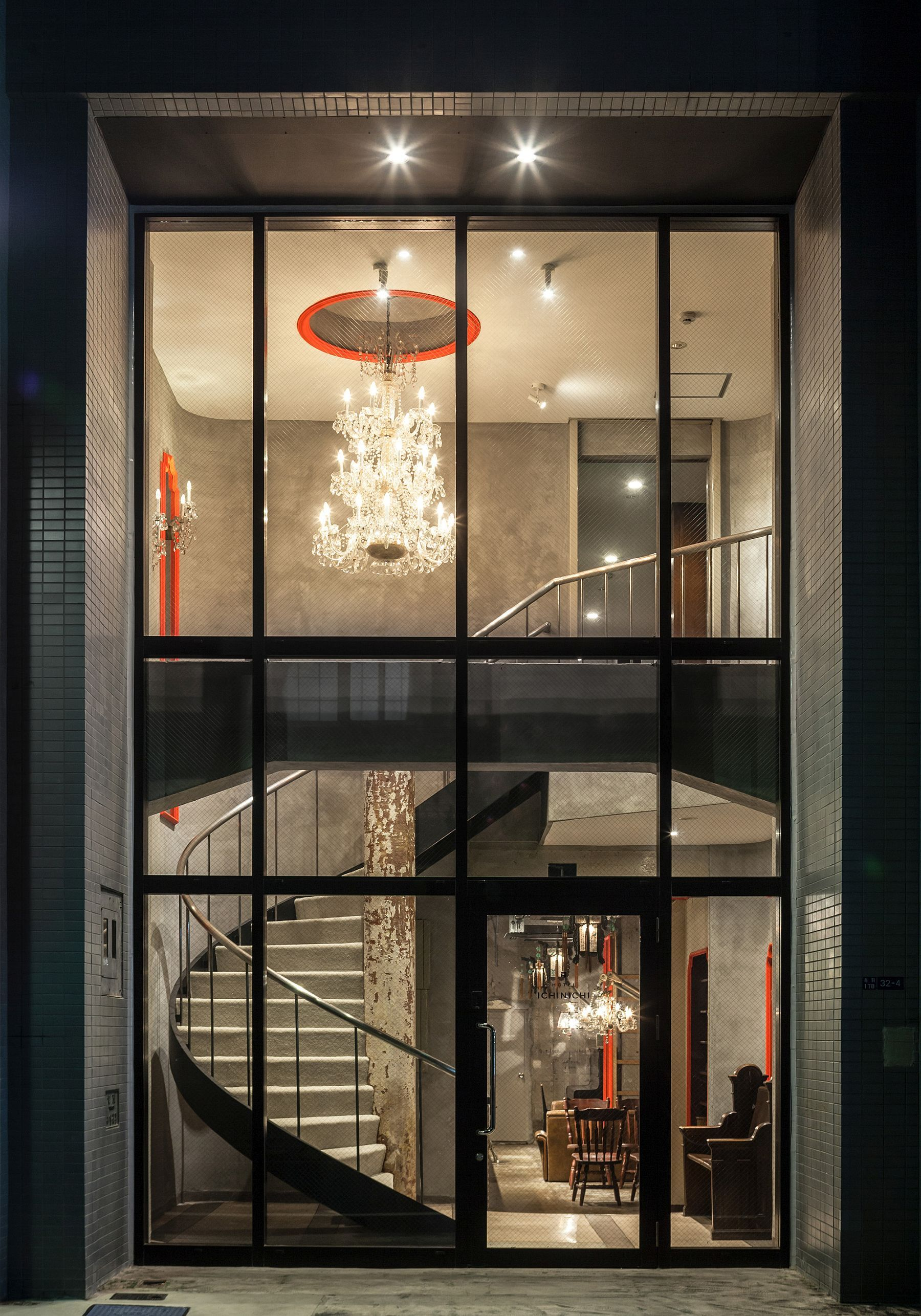 Nifty Conversion Alters Old Beauty Salon In Tokyo Into A