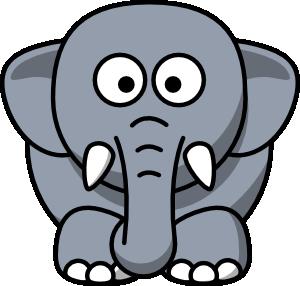 cartoon elephant clip art vector clip art online royalty free rh pinterest com elephant clip art black and white elephant clip art images
