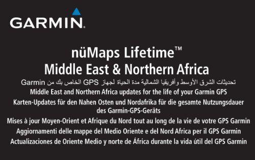 Garmin nMaps Lifetime Middle East & Northern Africa – Asia