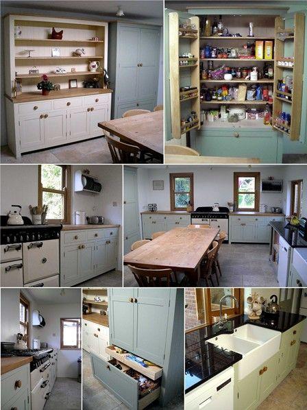 Curdridge free standing kitchen