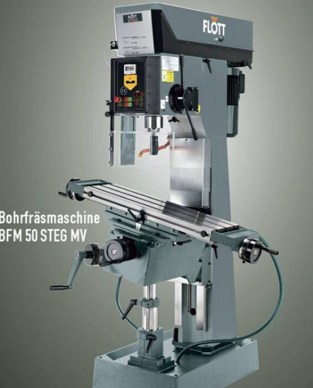 Flott Bohrfräsmaschine Werkzeugmaschinen Fräsen Metall