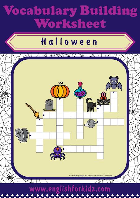 Printable Halloween Crossword Puzzles Halloween