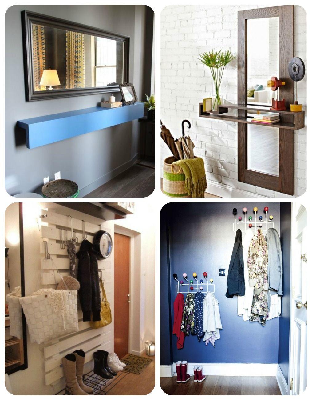 01 recibidores con encanto espacio peque o recibidor pinterest recibidor espacios - Ideas decorar recibidor ...