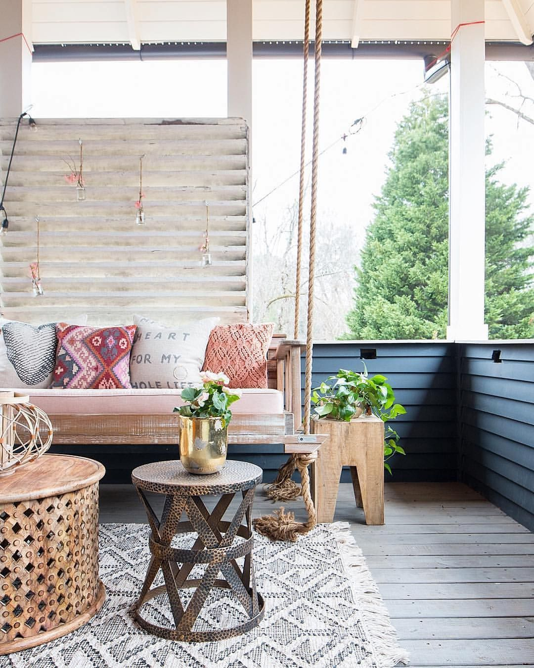 1 168 likes 5 comments the cottage journal on porch swing ideas inspiration id=66177