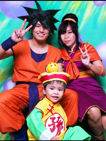 Goku Chi Chi And Gohan Dbz Cosplay Cosplay Epic Cosplay