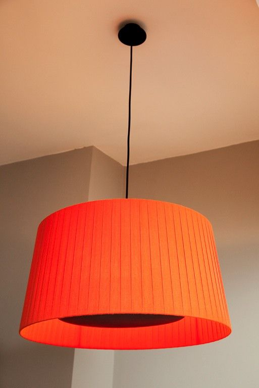 Lamp Shade I Must Have A Bright Orange Lampshade Somewhere In My